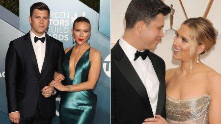 Scarlett Johansson a nascut! Ce sex are bebelusul si ce nume au ales ea si <span style='background:#EDF514'>COLIN</span> Jost