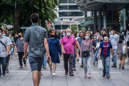 Un britanic a fost condamnat, in Singapore, la sase saptamani de inchisoare pentru ca nu a purtat masca de protectie