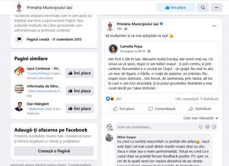 <span style='background:#EDF514'>PRIMARIA IASI</span>, criticata dupa ce a apreciat laudele unei turiste ce cataloga Bucurestiul cocina si Cluj-Napoca un grajd
