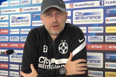 Edi Iordanescu, prima conferinta de presa la FCSB » Toate declaratiile sunt AICI
