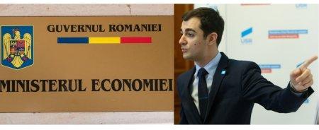 Ministrul Economiei, Claudiu Nasui (USR-PLUS), acuzat ca a copiat o initiativa PSD
