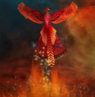 Pasarea Phoenix - legenda pasarii care reinvie din propria <span style='background:#EDF514'>CENUSA</span>