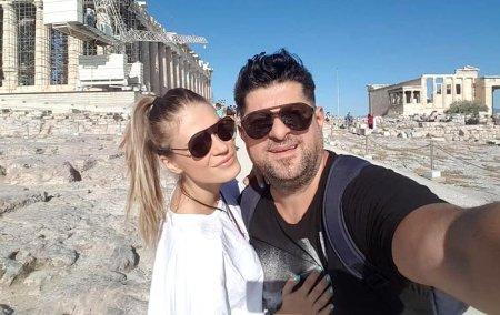 Artistul Tavi Colen si partenera lui, Emma Ștefan, vacanta in Italia. Cum au fost surprinsi