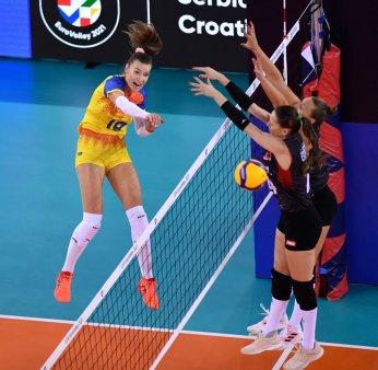 Adelina Ungureanu: Sunt mandra de fete! Meciul cu Turcia ne-a aratat ca avem potential!
