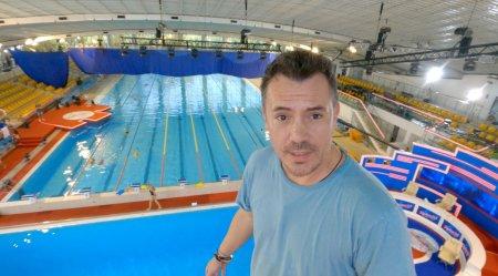 Razvan Fodor a testat pe propria piele inaltimile Splash! Vedete la apa:  Mi se pare… Doamne fereste!