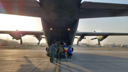 Alti 14 cetateni romani au ajuns pe aeroportul din Kabul si pot fi evacuati din Afganistan