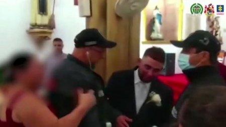Traficant de droguri din Medelin arestat chiar la altar, in ziua nuntii, dupa ce disparuse inca din anul 2017