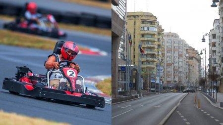 Calea Victoriei inchisa partial, in weekend, pentru un concurs de karting. Traseul autobuzelor STB care trec prin centrul Capitalei va fi modificat