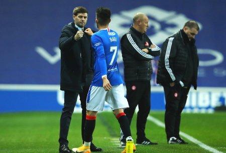 Steven Gerrard, dat pe spate de Ianis Hagi: Este profesionistul suprem! O placere sa lucrezi cu el si va ajunge in top!