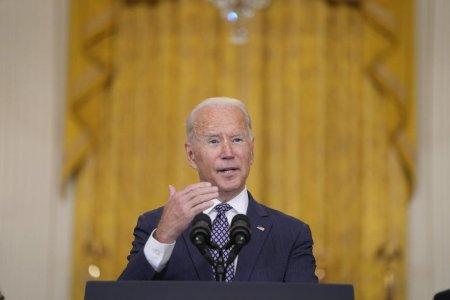 Joe Biden: Suntem in contact constant cu talibanii. Vom raspunde rapid si puternic daca suntem <span style='background:#EDF514'>ATACATI</span>