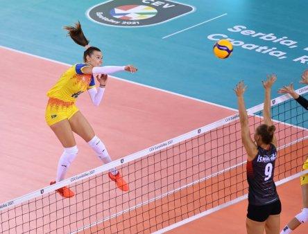 Romania - Suedia, Campionatul European de volei feminin » Tricolorele cauta prima victorie din grupa