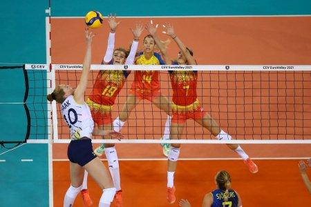 Cine e Isabelle Haak, jucatoarea care a batut de una singura Romania la Campionatul European de volei feminin! Contract fabulos la club
