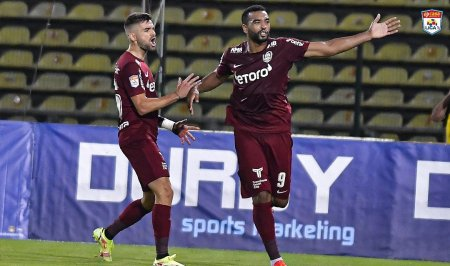A sasea victorie in <span style='background:#EDF514'>LIGA I</span> pentru CFR Cluj, din tot atatea meciuri. Ultima victima, FC Arges