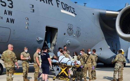 O femeie afgana a nascut la bordul aeronavei SUA care o evacua din Afganistan