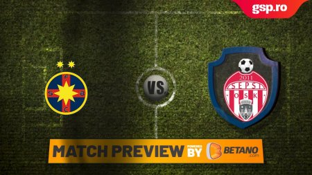 Etapa 6 // Match P<span style='background:#EDF514'>REVIEW</span> FCSB - Sepsi OSK