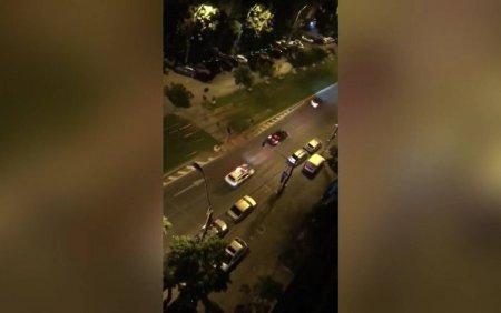 Urmarire cu focuri de arma in Capitala dupa ce un un sofer care n-a oprit la semnalul politistilor