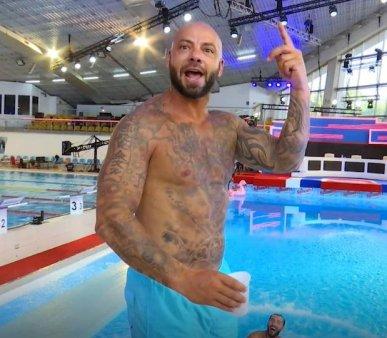 Splash! Vedete la apa 2021. Giani Kirita, campionul care a surprins cu o saritura de la 3 metri. S-a vazut lipsa de antrenament