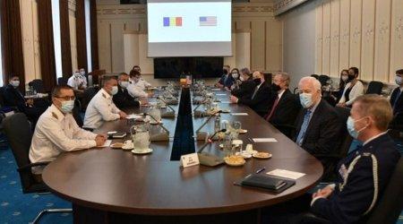 Intalnire a ministrului Apararii cu membri ai Congresului SUA. Discutii despre securitatea regiunii Marea Neagra