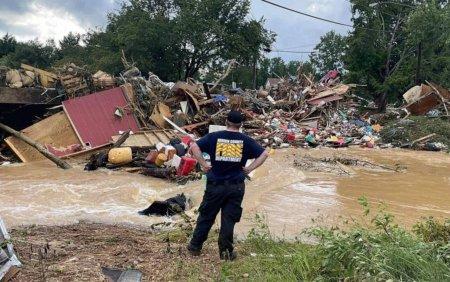 Inundatii puternice in statul Tennessee. Bilantul indica cel putin 16 morti si zeci de disparuti