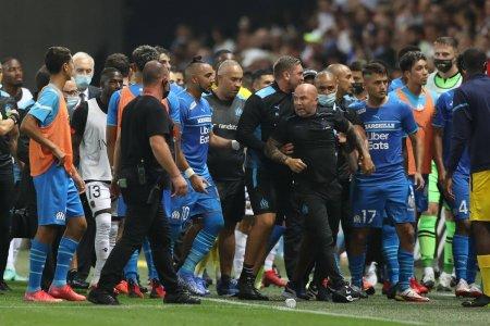 Oficialii lui Marseille reactioneaza dupa ce meciul cu Nice a fost abandonat: Noi vinovati?! Esti nebun! Arbitrul e cu noi