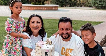 Andra a implinit 35 de ani si 13 ani de casatorie cu Catalin Maruta. Ce declaratie de dragoste i-a facut sotul