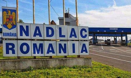 Coloane de camioane la frontiera cu Ungaria, dupa trei zile de restrictii de circulatie
