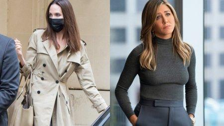 <span style='background:#EDF514'>ANGELINA JOL</span>ie a detronat-o pe Jennifer Aniston pe Instagram. A stabilit un nou record