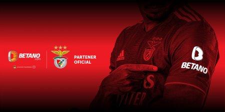 BETANO.com devine partenerul oficial al Clubului de Fotbal Benfica Lisabona