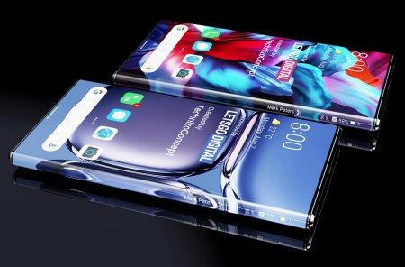 Huawei breveteaza Arc Display, un nou concept de ecran care imbraca laturile carcasei si ascunde camera selfie