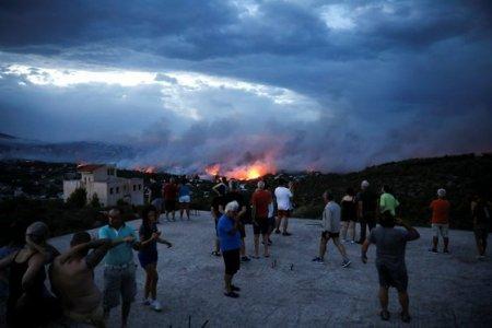 Europa cauta solutii in fata incendiilor devastatoare: actiunile umane se afla in spatele vastei majoritati a focarelor