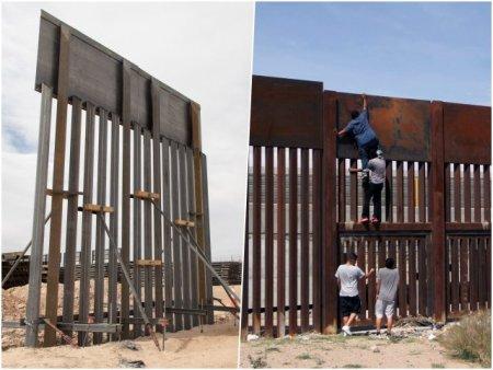 De necrezut: Ce s-a intamplat cu zidul lui Donald Trump de la granita cu Mexicul