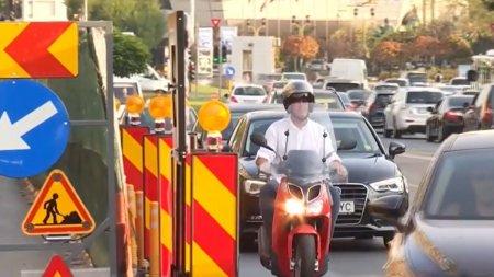 Restictii de circulatie in centrul Capitalei! Urmeaza trei saptamani de haos in trafic