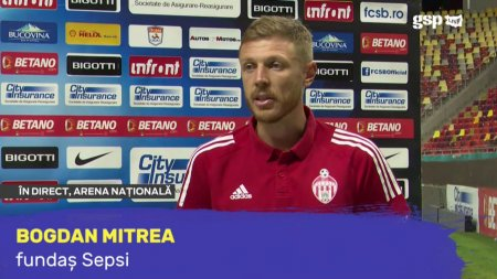 Bogdan <span style='background:#EDF514'>MITREA</span>, suparat dupa remiza cu FCSB: Putem spune ca am pierdut 2 puncte