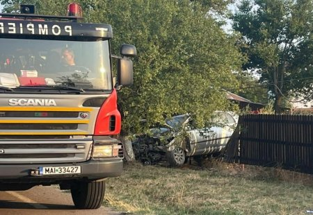 <span style='background:#EDF514'>ACCIDENT MORTAL</span> pe un drum national din judetul Giurgiu