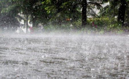 Prognoza meteo: Cod galben de ploi torentiale si vijelii in aproape toata tara