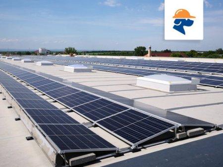 Simtel Team a construit pentru <span style='background:#EDF514'>KAUFLAN</span>d Romania doua centrale electrice cu peste 1300 de panouri fotovoltaice