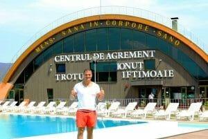Fostul luptator Ionut Iftimoaie si-a indeplinit visul. Numele sau pe frontispiciul unei mare baze sportive si de agrement. Conduce o investitie de 5 milioane de euro!