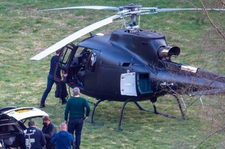 O britanica s-a trezit cu actorul Tom Cruise aterizand cu elicopterul in gradina ei