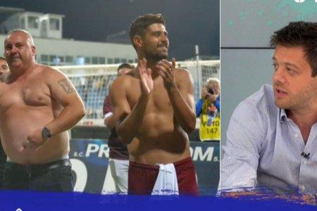 Ce a spus Victor <span style='background:#EDF514'>ANGELESCU</span>, dupa ce a vazut poza cu Mihai Iosif la bustul gol: Un singur lucru i-am spus