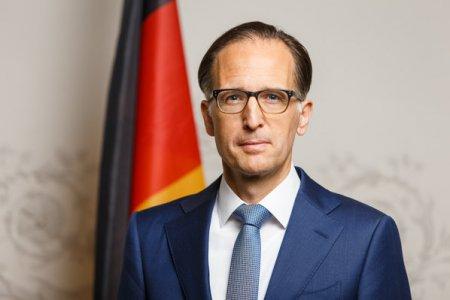 Germania si-a instalat la Bucuresti noul reprezentant, care trebuie sa sustina interesele economice si politice ale principalului partener comercial al Romaniei