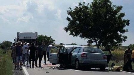 Accident cumplit la Misca, Bihor. O persoana a murit si alte 5 sunt ranite