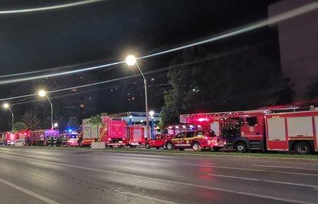 Alarma falsa de incendiu la Spitalul Maria Curie din Bucuresti. Autoritatile au trimis mai multe autospeciale
