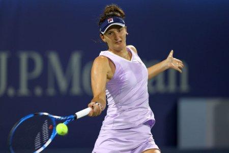 Irina Begu, in sferturi la C<span style='background:#EDF514'>LEVEL</span>and » Rezultat solid inainte de US Open