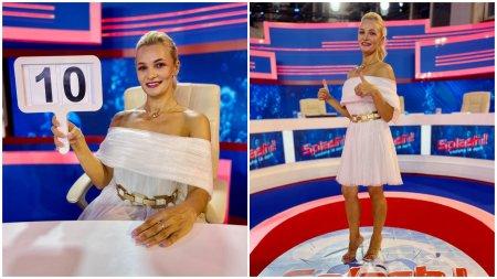 Clara Gherase va juriza alaturi de Nea Marin, <span style='background:#EDF514'>IULIA ALBU</span> si Jean de la Craiova prestatiile concurentilor Splash! Vedete la apa