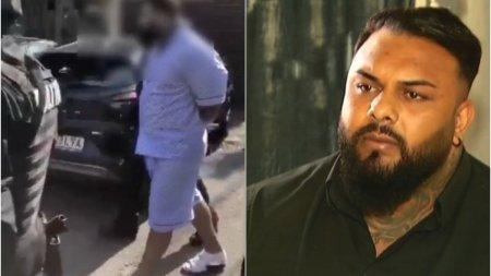 Interlopul Bebino, trezit de mascati si saltat in pijamale, intr-un dosar de razbunare pentru ajutorul dat justitiei