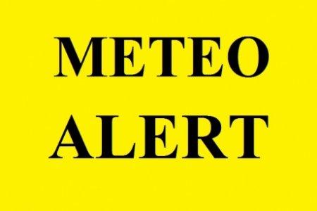 ALERTA meteo - ANM a emis noi <span style='background:#EDF514'>CODURI</span> portocalii si galbene de ploi/ HARTA zonelor afectate