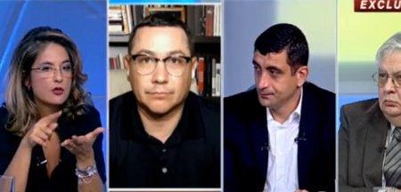 Victor Ponta si George Simion, intrebati de Victor Ciutacu daca s-au drogat vreodata. Ce au raspuns