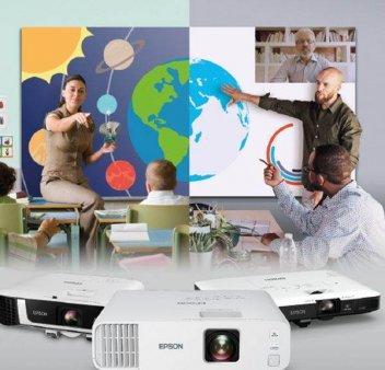IN PRIMUL TRIMESTRU AL ANULUI 2021 Epson isi mentine pozitia de lider al pietei locale de videoproiectoare