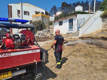 Pompierii romani in Grecia: Noi misiuni de supraveghere si monitorizare a zonelor critice FOTO