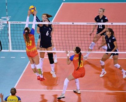 Romania - Ucraina, Campionatul European de volei feminin » Ultimul meci al grupei D